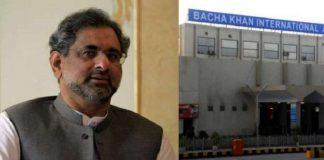 PM Abbasi inaugurates expansion of Bacha Khan International Airport