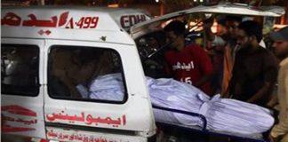 Eight family members burnt alive in Karachi