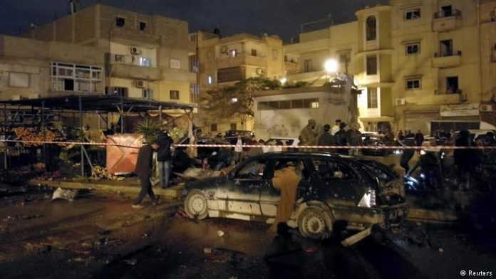 Seven killed in car bomb attack in Benghazi: security source