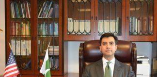 Ali Jahangir Siddiqui assumes charge as Pakistan's Ambassador to US