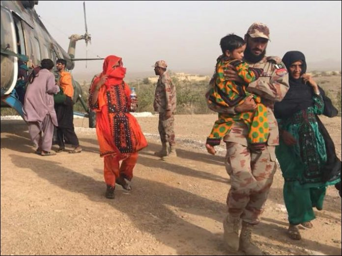 Army conducts operation in epidemic affected areas of Awaran: ISPR