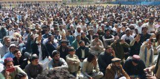 NWA residents end Mir Ali sit-in against targeted killings