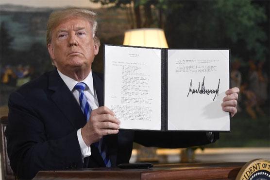 Trump ignores European pleas and abandons 'defective' Iran nuclear deal