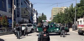 Afghan capital rocked with bombs, IS claims responsibility