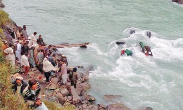 Four tourists dead as vehicle plunges into River Swat
