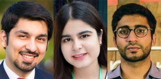 Three Pakistanis honoured with Queen's Young Leaders award