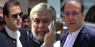 NAB to bring Dar, Hassan, Hussain through Interpol