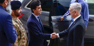 Ali Jehangir, Mattis discuss matters of mutual interests