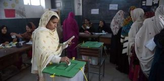 Women barred from casting votes in PK-65 Nowshera, ECP takes notice