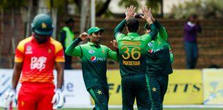 Pakistan record 244-run victory against Zimbabwe