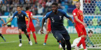 France reach World Cup final after beating Belgium 1-0