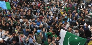 Kashmiris observing Accession to Pakistan Day today
