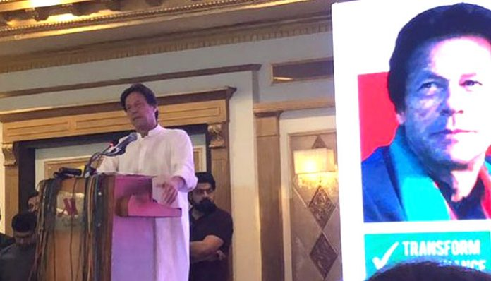 Imran Khan unveils PTI manifesto for General Elections 2018
