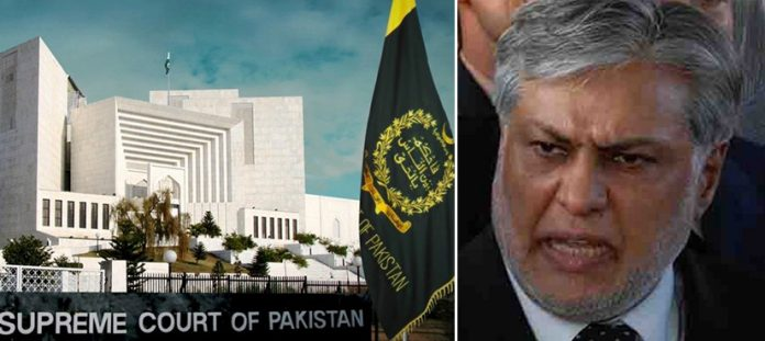 SC warns Ishaq Dar to appear otherwise his passport will be cancelled