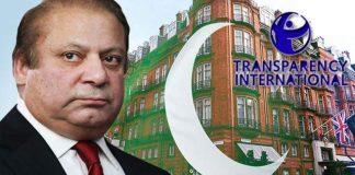 Transparency International urges British Govt to take action against Nawaz