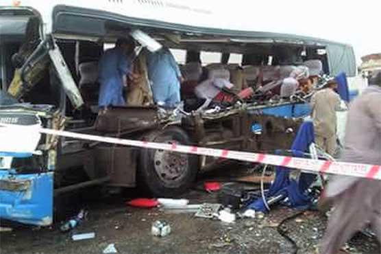 Six killed, nine injured in Rahim Yar Khan traffic mishap