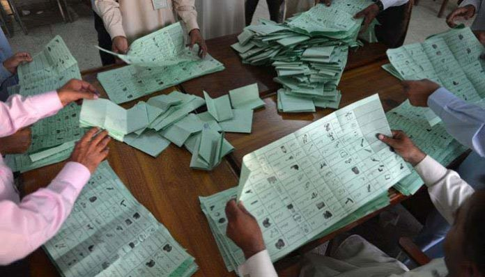 Vote count underway as polling ends