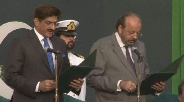 Murad Ali Shah sworn in as 33rd Sindh CM