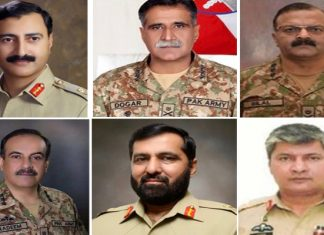 Top-level posting, transfers in Pakistan Army