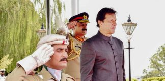 PM Imran visits GHQ, briefed on defence and internal security: ISPR