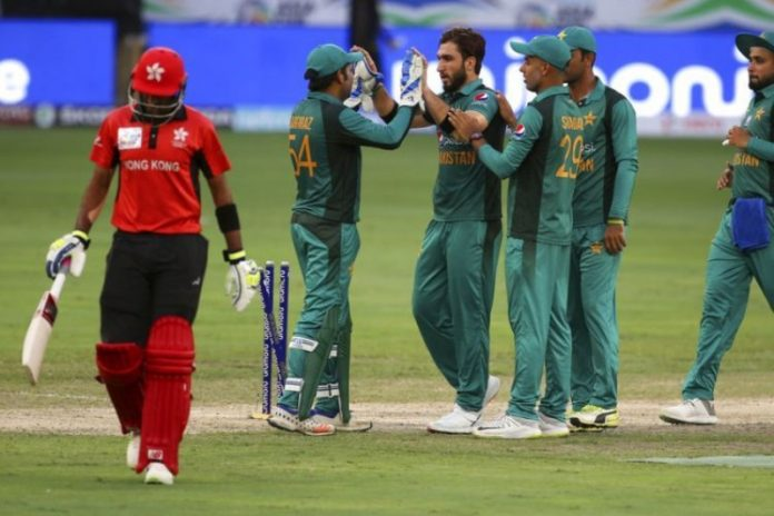 Asia Cup: Pakistan crush Hong Kong by eight wickets