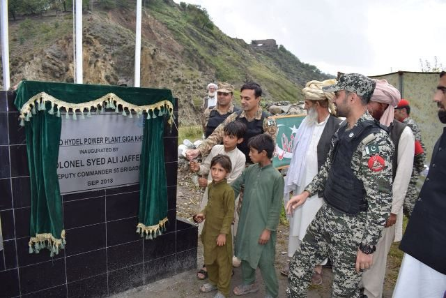 Hydro-power plant inaugurated in South Waziristan