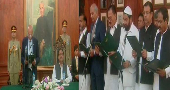 12 new Ministers take oath in Punjab Cabinet