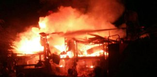 Fire erupts in Lakki Marwat seminary, reduces valuables to ashes