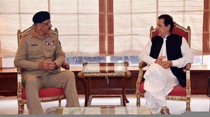 PM, CJCSC discuss professional matters pertaining to armed forces
