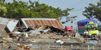 48 dead as major quake-tsunami hits Indonesian island