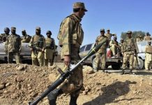 Four soldiers martyred, four terrorists killed in North Waziristan operation: ISPR