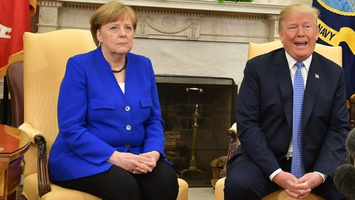 Merkel warns Trump against'destroying' UN