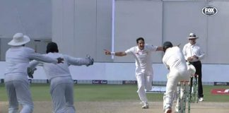 Australia all out for 145 in second Test