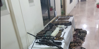 FC recovers huge cache of arms in Quetta