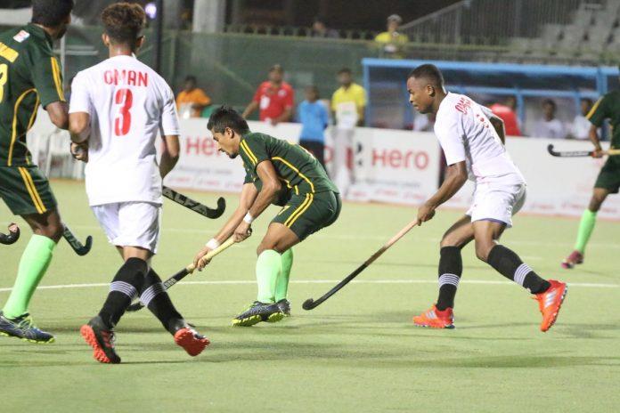 Pakistan beat Oman by 8-1 in Asian Hockey Champions Trophy