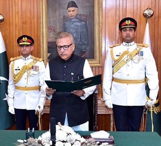 Six new ministers take oath