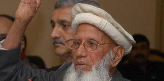 Baba Haider Zaman, advocate of Hazara province passes away at 82