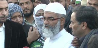 Zainab's father wants her killer to be hanged in public