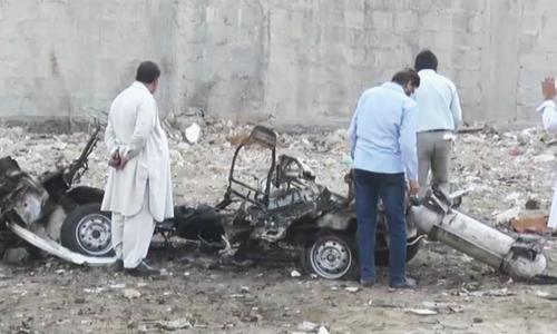 Car explodes in Karachi's Khadda Market; no casualties reported