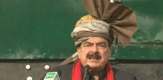 Sheikh Rasheed launches high-speed train between Peshawar and Karachi