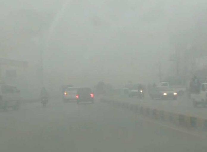 Motorway section from Peshawar to Rashakai closed due to fog