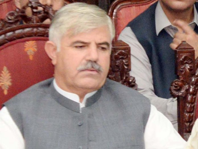 KP CM expresses grave concern over increase in polio cases in province