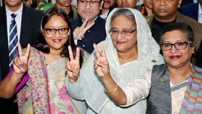 Bangladesh's Hasina wins election by landslide as opposition demands new vote
