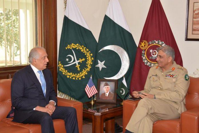 Zalmay Khalilzad calls on Army Chief, discusses Afghan peace process