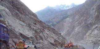 Nine killed in land sliding at Karakoram Highway in Upper Kohistan