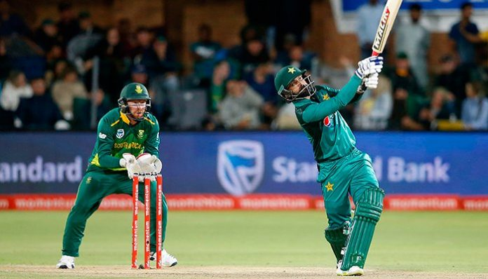 Hassan helps Pakistan set South Africa 204-run target in 2nd ODI