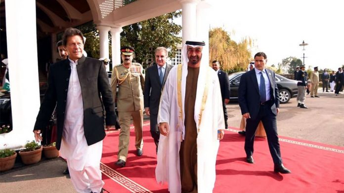 Abu Dhabi Crown Prince departs after one-day visit to Pakistan