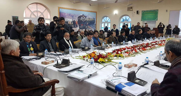 Khyber Pakhtunkhwa cabinet hold meeting in Landi Kotal, Khyber district