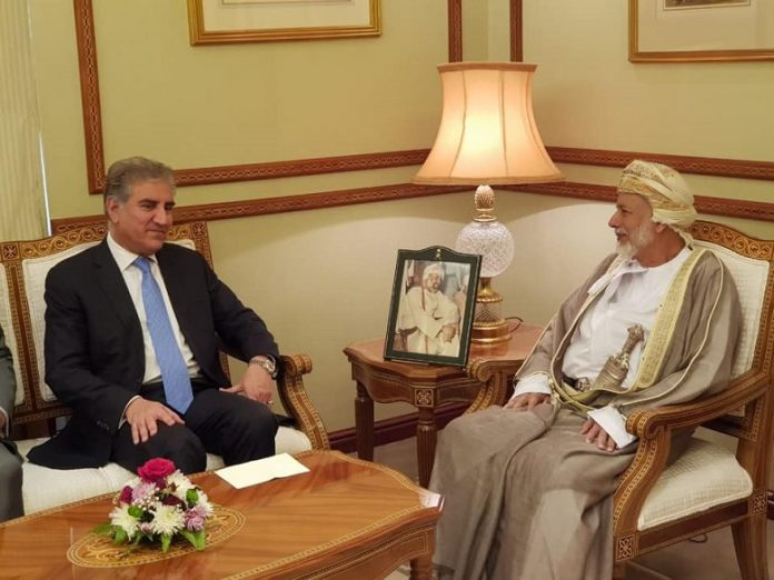 FM Qureshi, Omani counterpart discuss bilateral ties, regional situation