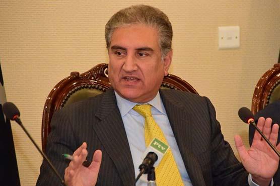 India wants to destabilize Pakistan by sponsoring terrorism: FM Qureshi